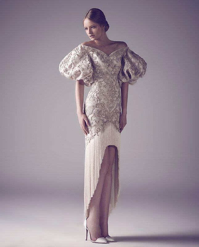 Ashi Studio: кутюрные свадебные платья из зимней коллекции   Vogue   Brides   VOGUE