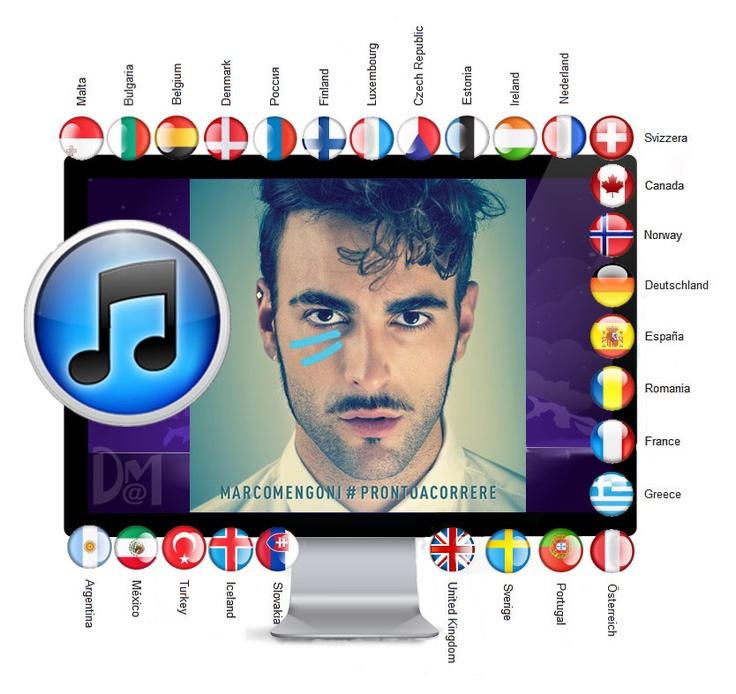 Marco Mengoni: International su iTunes