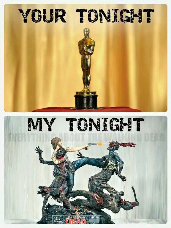 What is this awards show you speak of??? Sundays are for the dead.   #deharo70  #TWD @TheWalkingDead #TalkingDead @AMCTalkingDead @WalkingDead_AMC #NormanReedus #DarylDixon @wwwbigbaldhead #ChrisHardwick @hardwick #JeffreyDeanMorgan #Negan @JDMorgan #AndrewLincoln #RickGrimes #GregNicotera @G_Nicotera #ScottMGimple @ScottMGimple #Skybound @Skybound #RobertKirkman @RobertKirkman @WoodburyShoppe @UndeadWalkingFS @TWDFamily #deharo70 @deharo70 #MILEStones