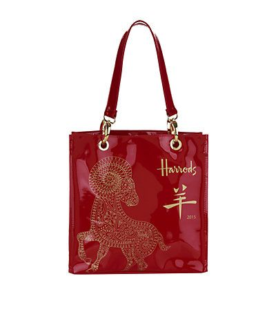 Harrods Small Chinese New year 2015 Shopper Bag available to buy at Harrods. Shop Harrods gifts online & earn reward points. Luxury shopping with free returns on UK orders.