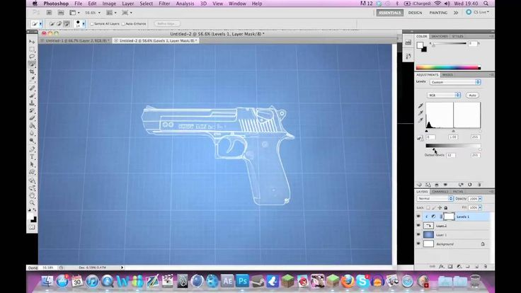 How to create a blueprint effect in photoshop cs6 design how to create a blueprint effect in photoshop cs6 design marketing promotion pinterest malvernweather Image collections