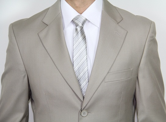Men's Three Button Tan Suit: Men Suits | Mens Wear | Mens Wedding Suit |