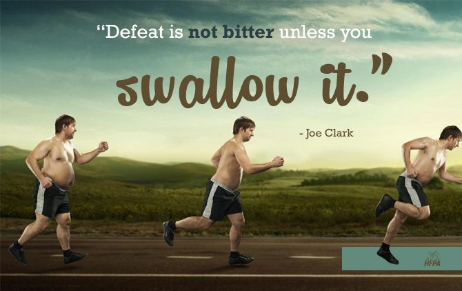 No defeat!