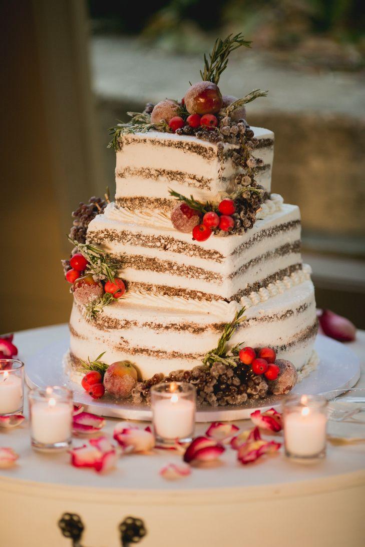 Naked Wedding Cake Images
