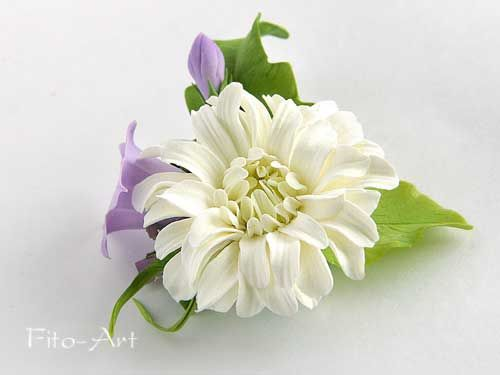Украшалки свадебные и летние - Цветы ручной работы