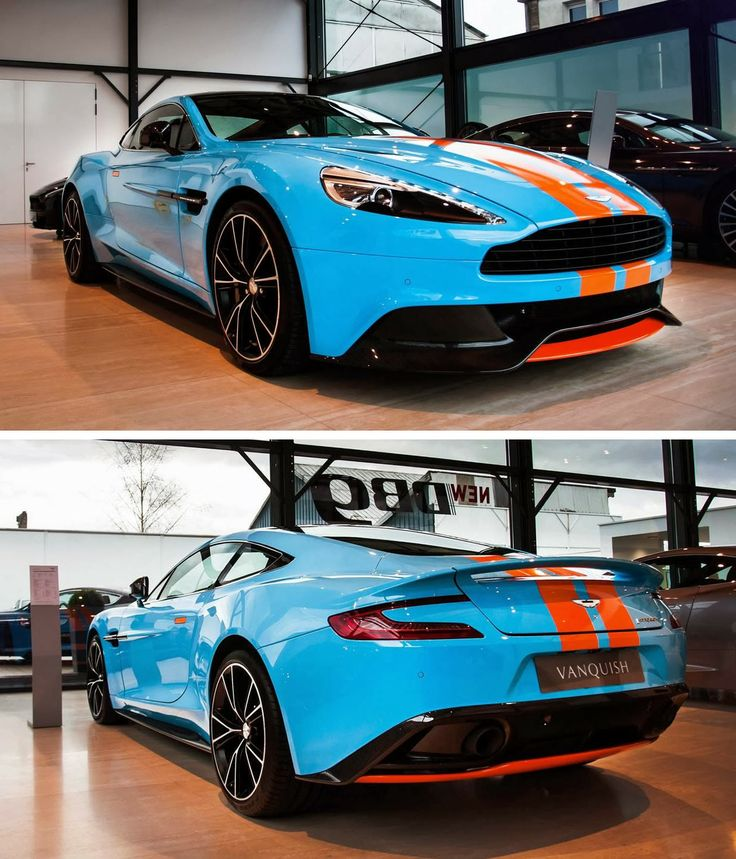 Cars Motorcycles That I Love: Aston Martin Vanquish In Gulf Oil Livery Photo De Marko P