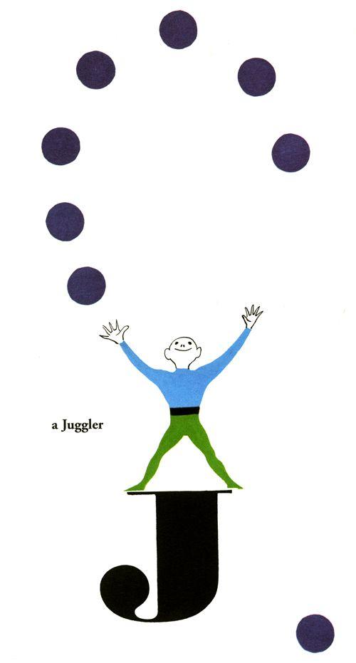 The Juggler, Bruno Munari's ABC, courtesy of Inchmark