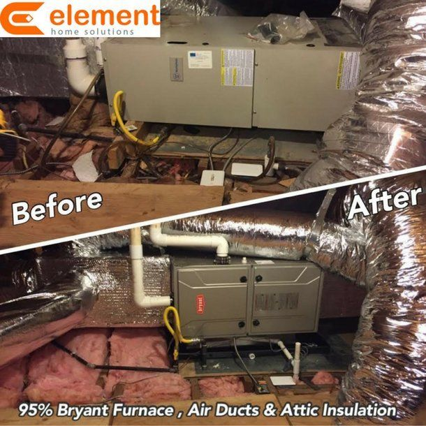 We Have Updated Our Photo Gallery Where You Can View A Number Of Examples Of Our Past Work Including A Set Of Before After Photos Hvac Ductwork Hvac Furnace