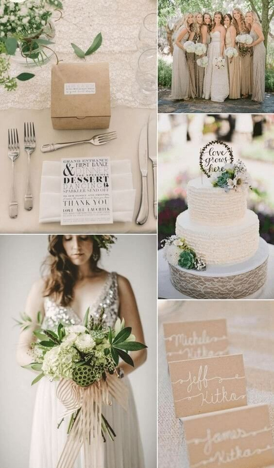 12 Stunning Combinations For Color Schemes Fall Weddings