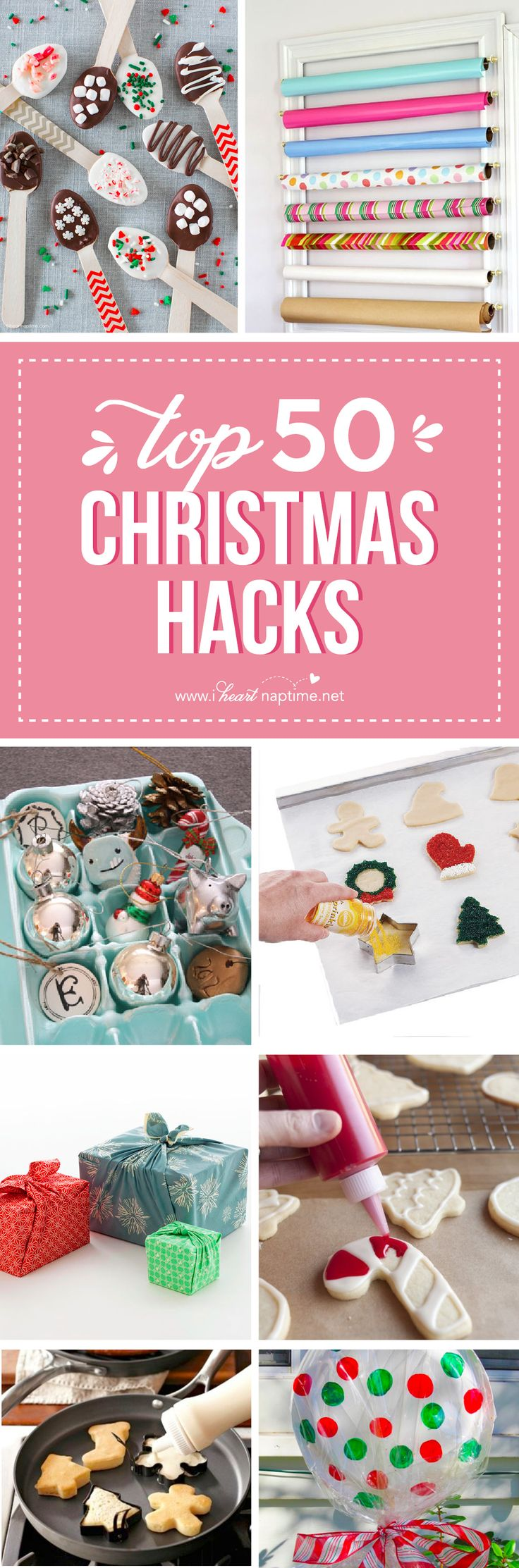 27 Christmas Hacks - tips and tricks that will make your life easier during the holidays!