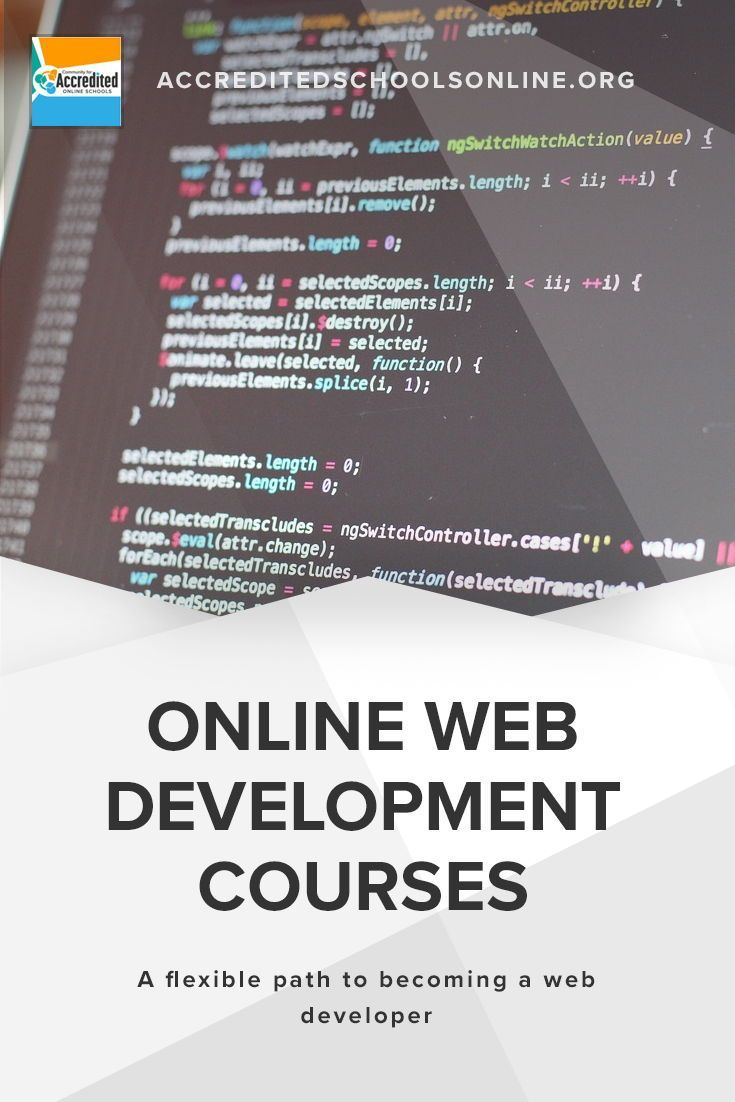 Web Development Encompasses Several Facets Of The Web Page Creation Process A Degree Isn T An Abs Web Development Course Web Development Class Web Development
