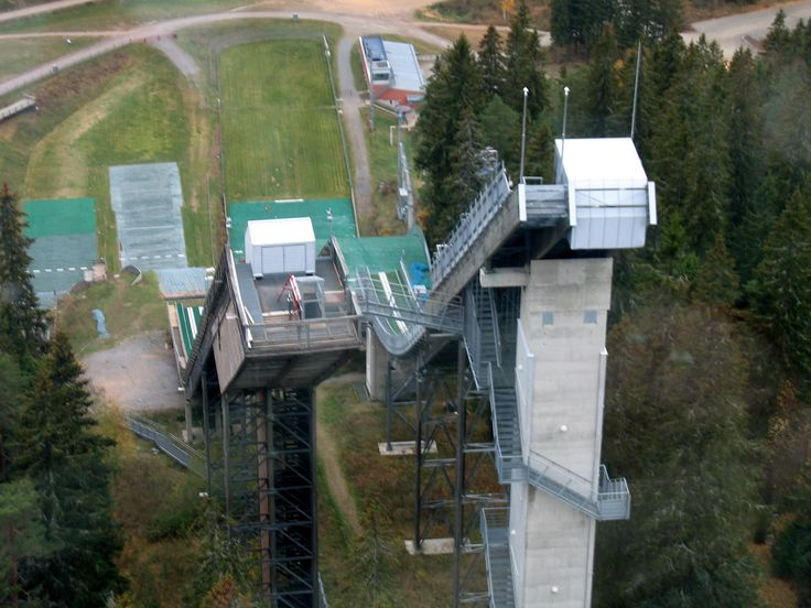 Ski jumps in Kuopio