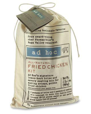 Ad Hoc Fried Chicken Kit   Williams-Sonoma: MMMmmmmmMM! Fried CHAKEN! DAG NABBIT!
