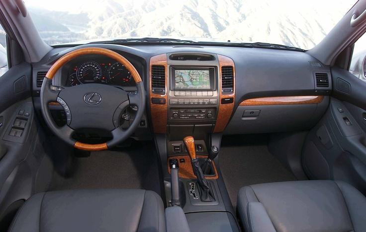 Lexus GX 470 interior