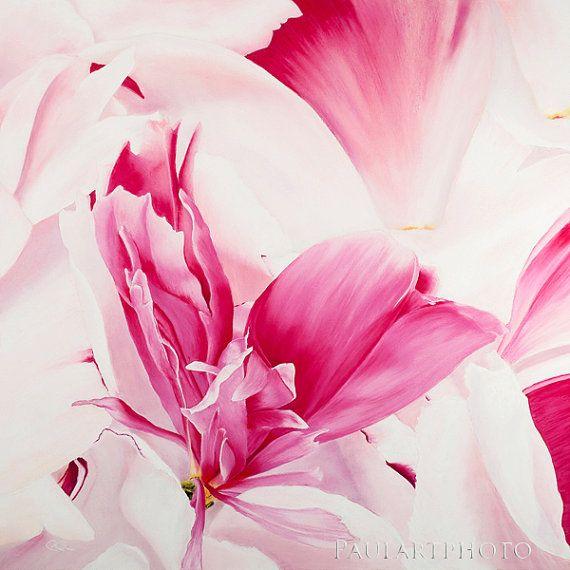 Pink Peony Flower Fine Art Inkjet Print. by PRPhotographyAndArt, $19.00