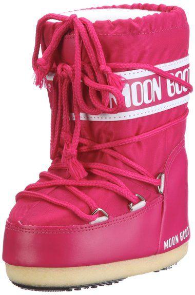 Tecnica MOON BOOT NYLON BOUGANVILLE, Damen Schneestiefel, Pink (0062), 35/38 EU