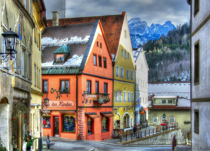 """The Painted Streets of Füssen"" by Justin Orr on 500px"