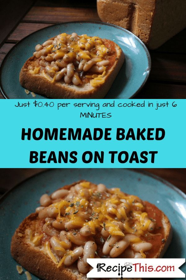 Homemade Baked Beans On Toast