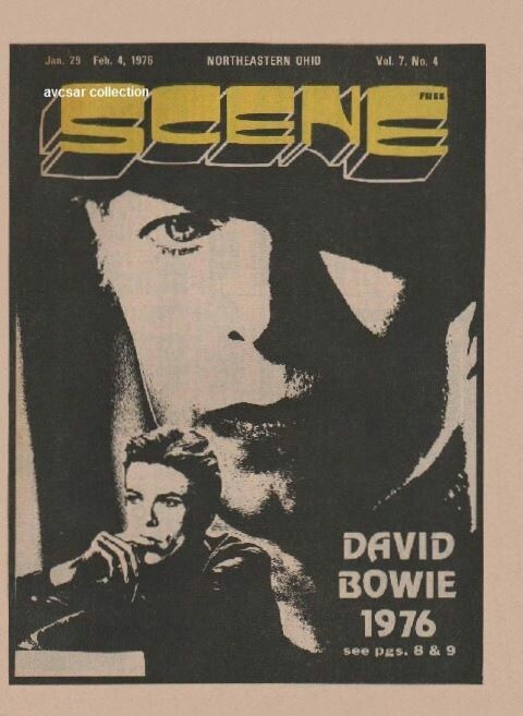 Bowie - Magazine Cover 1976