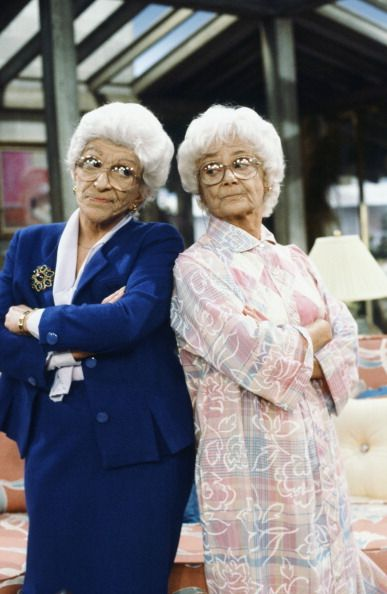 Nancy Walker as Angela Petrillo Estelle Getty as Sophia Petrillo