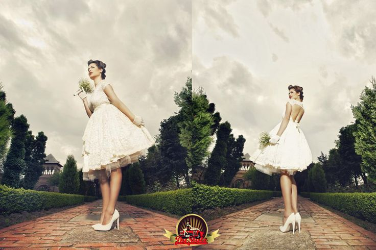 Lovely retro bride!