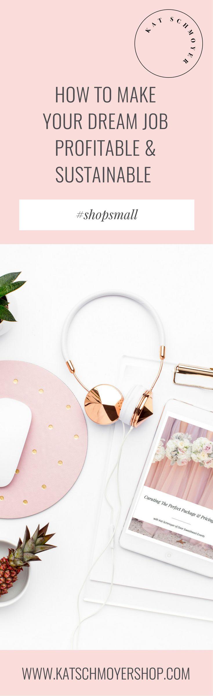 Products Designed to Make Your Dream Job Profitable & Sustainable // Kat Schmoyer Shop #shopsmall #shopsmallbusiness #creative #creativeentrepreneur #entrepreneur #sidehustler #weddingplanner #conference #conferencehost #bosslady