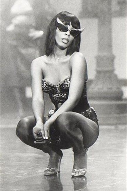 Donna Summer. Hot stuff. - - She was the ultimate to me. I didn't realize until…