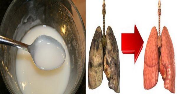 Toti romanii care fumeaza trebuie sa afle asta....Acest aliment banal iti curata plamanii dupa fumat!