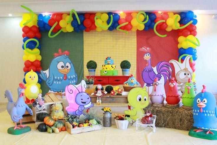 Galinha Pintadinha 2 - Muita Festa Decorações
