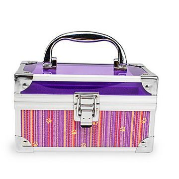 Aluminium Alloy Lockable Special Cosmetic Box Makeup Case 16.5*8.5*9.5cm