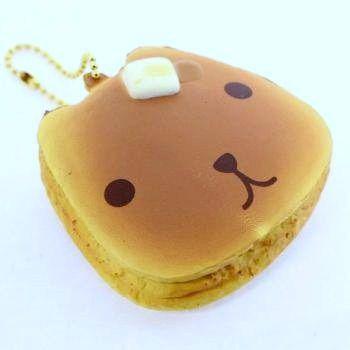 Kapibara San Pancake Squishy Mascot