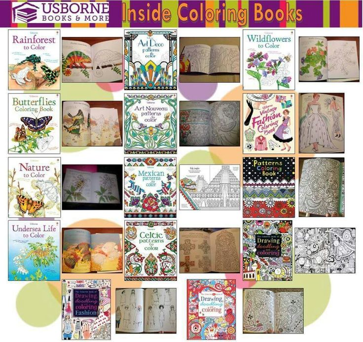 if you are interested in any usborne books or would like more information contact me - Usborne Coloring Books