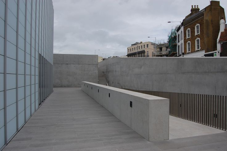 Margate-Turner Gallery, Fair-faced concrete finish