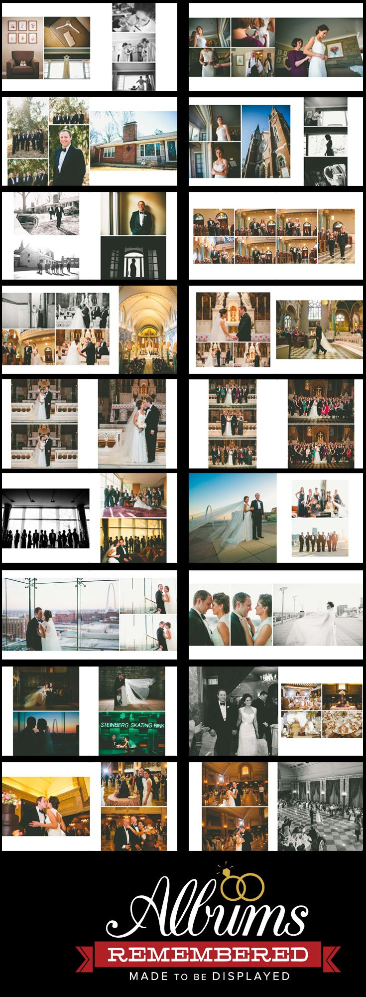 Free wedding album design service www.albumsremembered.com