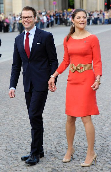 Crown Princess Victoria of Sweden and her husband Prince ...