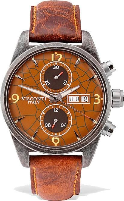 971699d8cbd Visconti Watch Roma 60s Chrono Limited Edition  add-content  bezel-fixed