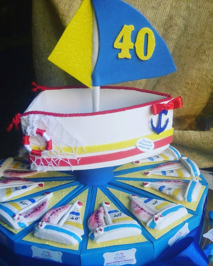 Torta bomboniere 40°