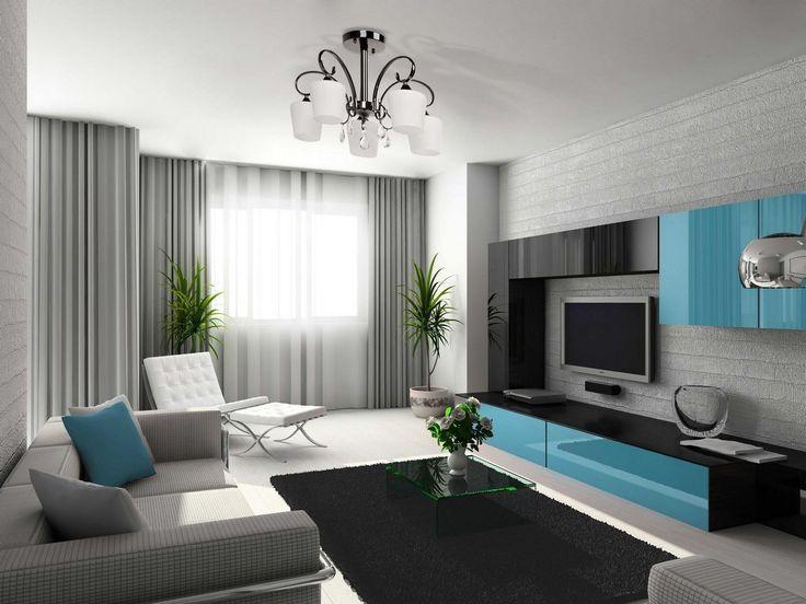 Матовый натяжной потолок в гостиную 16.4 кв.м