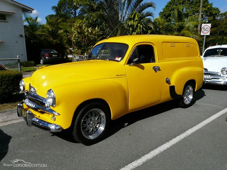 1956 HOLDEN FJ FJ PANEL VAN Maintenance/restoration of old/vintage vehicles: the material for new cogs/casters/gears/pads could be cast polyamide which I (Cast polyamide) can produce. My contact: tatjana.alic@windowslive.com