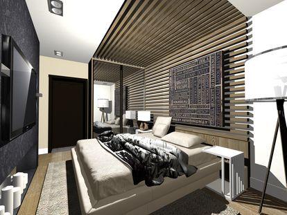 дизайн интерьера: Квартира, Дом, Каюта, Салон самолета, интерьер яхты , Спальня , 10 - 20 м2 , стиль Минимализм - найдено 317 проектов