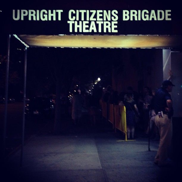 Upright Citizens Brigade - learning so much from the sketch writing program. I'm in love, I think I've found what I love and want to do