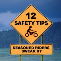 12 Motorcycle Tips That Seasoned Riders Swear By! #motorcycling