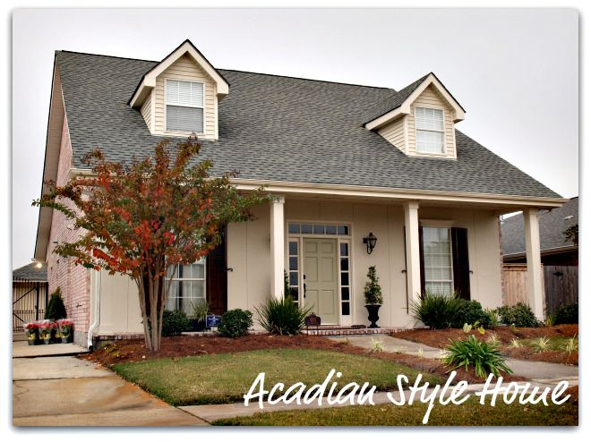 17 Best Acadian Style Homes Images On Pinterest Acadian