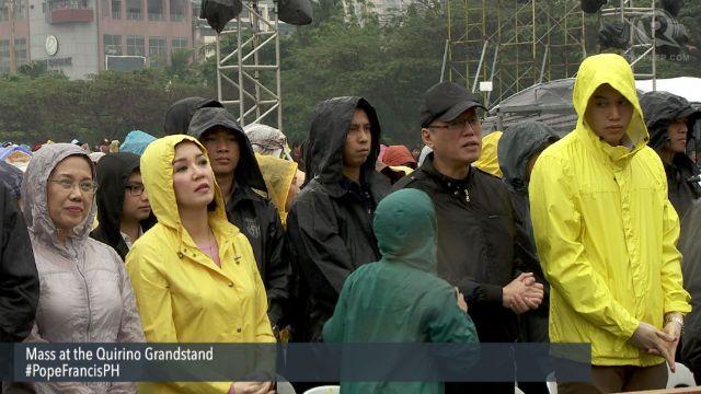 Rappler photo Final mass at Quirino Grandstand. Pope Francis Phil visit jan 2015