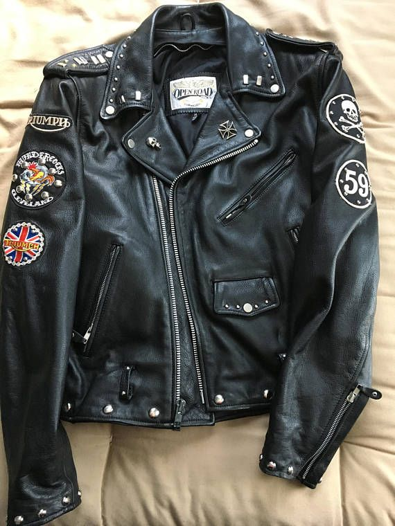 VTG Motorcycle Jacket Rocker Jacket Ace Café London Rocker