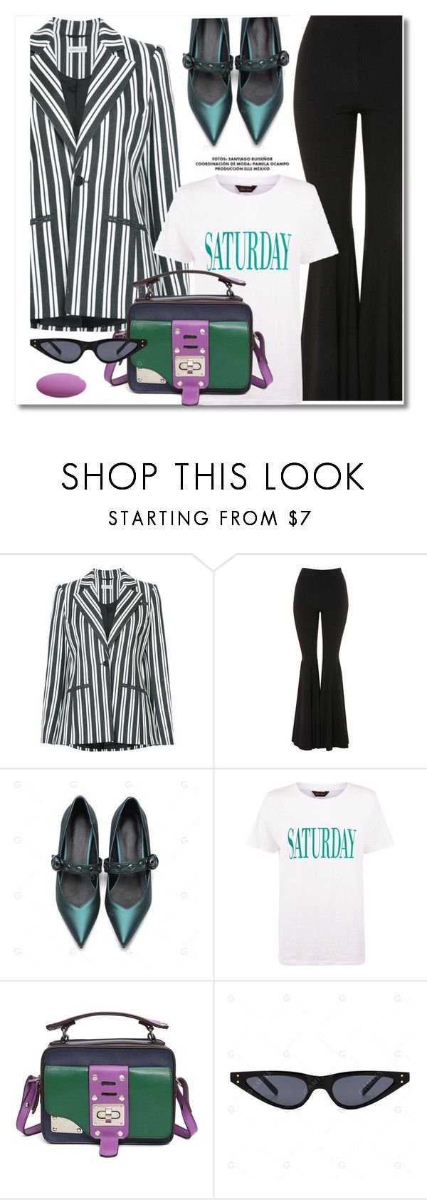 """""""Enter contest Draft Saved Open New       WomenMenHomeMy ItemsCollectionsContest Dress Up a T-Shirt"""" by paculi ❤ liked on Polyvore featuring Altuzarra, Topshop and MyFaveTshirt"""