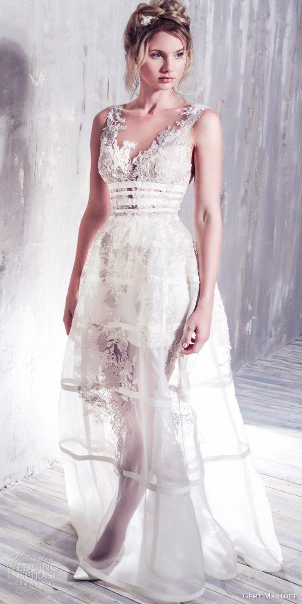 Gemy Maalouf Bridal 2016 Wedding Dresses