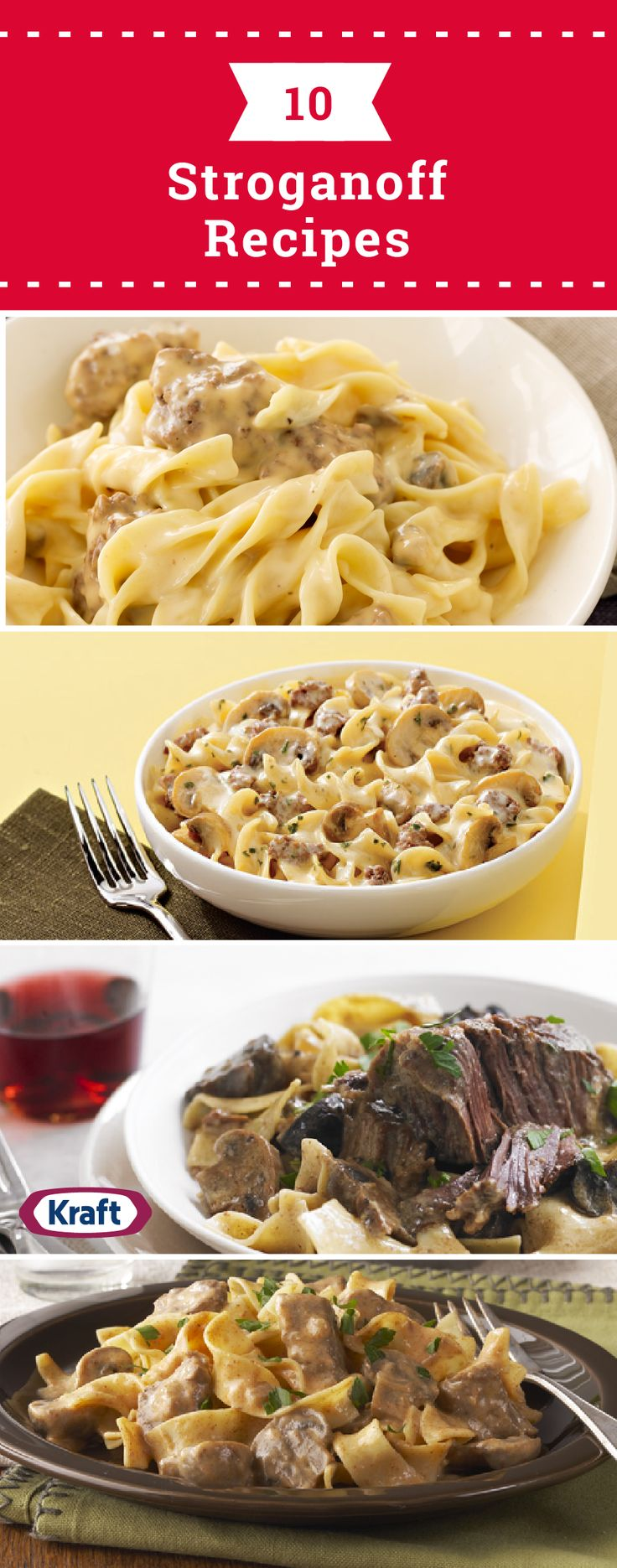 10 Stroganoff Recipes – When it comes to stroganoff recipes, beef stroganoff is the classic—but there are so many ways to enjoy it on your dinner table! Check out this collection to see varieties like Easy One-Skillet Stroganoff, Slow-Cooker Short Rib Stroganoff, and Shrimp Stroganoff.