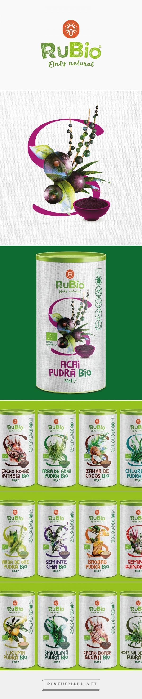 RuBio Superfoods packaging design by Horea Grindean - http://www.packagingoftheworld.com/2016/10/rubio-superfoods.html