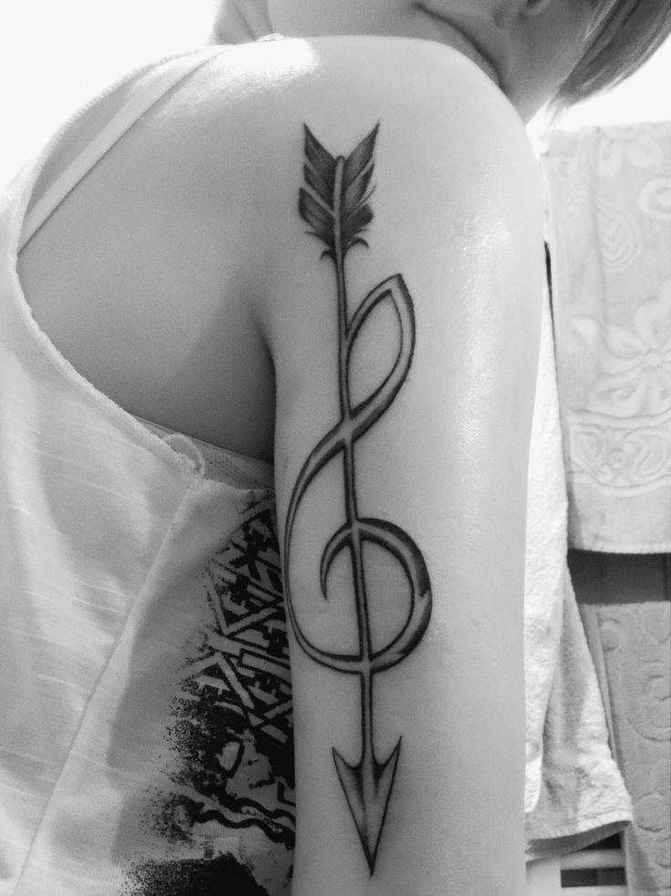 Arrow treble clef                                                                                                                                     …
